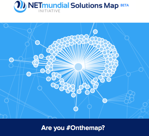 NetMundial Solutions Map